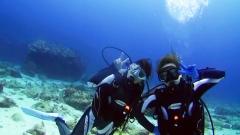 沖永良部島で体験ダイビングにチャレンジ