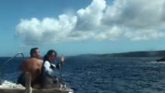 ボートで沖永良部を本格体験