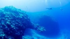 沖永良部島でダイビングの地形ダイビングポイント