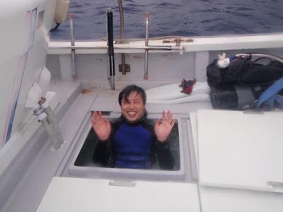 沖永良部島船上露天風呂