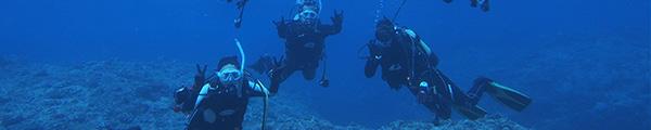 沖永良部島でダイビングならファンダイビング