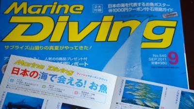 20110817-01月刊マリンダイビング9月号