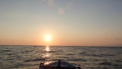 沖永良部の夕日