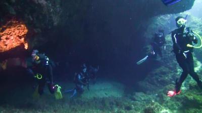 洞窟ポイント