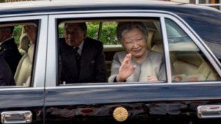 天皇皇后両陛下が沖永良部島へ