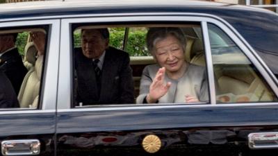天皇皇后両陛下の沖永良部島初日