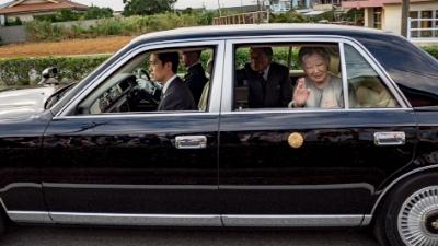 天皇皇后両陛下が沖永良部島へ来島